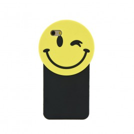 Apple Iphone 5 / 5s / SE 3D silikoonkaitse Smile