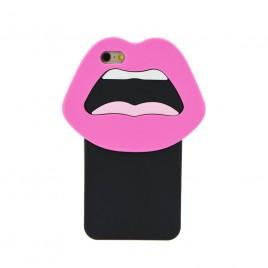 Apple Iphone 5 / 5S / SE 3D silikoonkaitse huuled