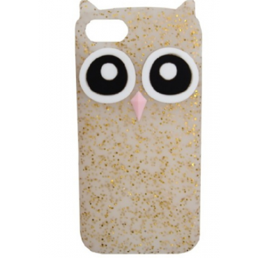 Apple Iphone 6 / 6s / 7 / 8 silikoonkaitse Owl gold shine