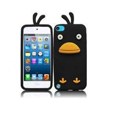 Apple Iphone 4 / 4s 3D silikoonkaitse Duck must