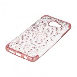 Samsung A5 (2017) / A520 3D silikoonkaitse Stars roosa