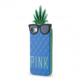 Samsung G530 / G531 Galaxy Grand Prime 3D kujuga Silikoonkaitse PINK ananass sinine