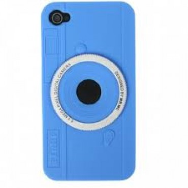 Apple Iphone 4 / 4S 3S silicone case Camera