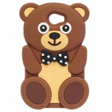 Huawei Y5 II 3D silikoonkaitse karu pruun