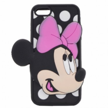 Apple Iphone 5 / 5S / SE 3D silikoonkaitse Minnie