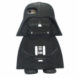 Apple Iphone 5 / 5S / SE 3D silikoonkaitse Dark Vader