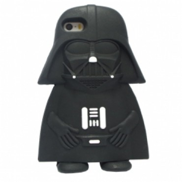 Apple Iphone 5 / 5S / SE 3D silikoonkaitse Dark Vader