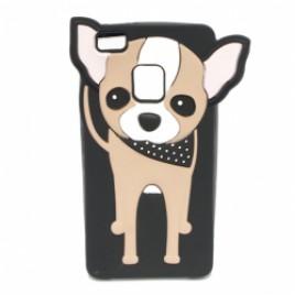 Huawei P9 Lite 3D silikoonkaitse koer must