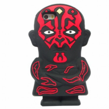 Apple Iphone 5 / 5S / SE 3D silikoonkaitse Darth Maul
