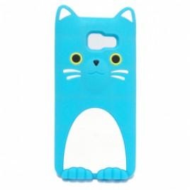 Huawei P9 Lite 3D silikoonkaitse kass sinine