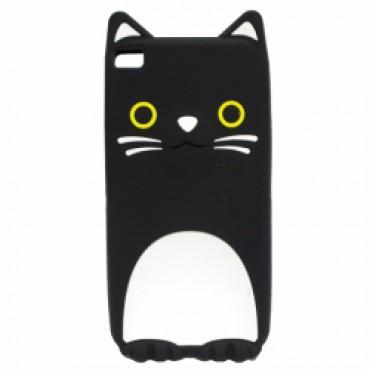 Huawei P9 Lite 3D silikoonkaitse kass must