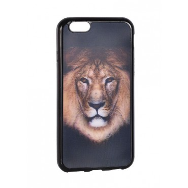 Apple Iphone 5 / 5s / SE 3D silikoonkaitse Tiger kuldne