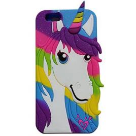 Apple Iphone 7 / 8 silikoonkaitse Colorful Pony