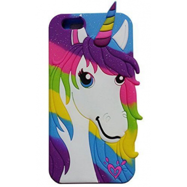 Apple Iphone 6 / 6s silikoonkaitse Colorful Pony