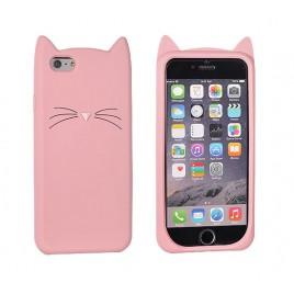 Samsung A5 / A500 3D silikoonkaitse Cat roosa