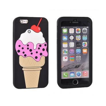 Apple Iphone 7 / 8 3D silikoonkaitse Jäätis kirsiga