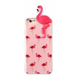 Xiaomi Redmi 4X silikoonkaitse Pink Flamingos