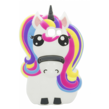 Huawei P9 Lite 3D silikoonkaitse Unicorn