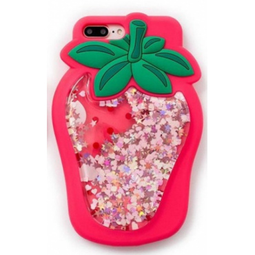 Apple Iphone 6 / 6s 3D silikoonkaitse Strawberry