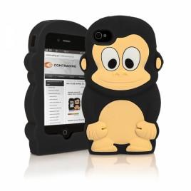 Apple Iphone 6 / 6s 3D silikoonkaitse ahv must