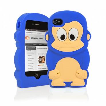 Apple Iphone 6 / 6s 3D silikoonkaitse ahv sinine
