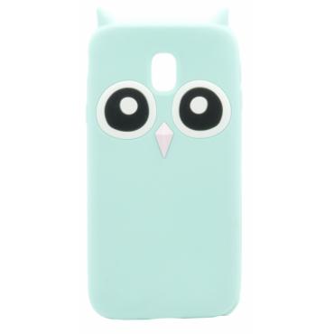 Apple Iphone 6 / 6s / 7 / 8 silikoonkaitse Owl mündiroheline