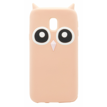 Huawei P9 Lite silikoonkaitse Owl roosa