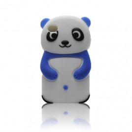 Apple Iphone 6 / 6s 3D silikoonkaitse panda valge