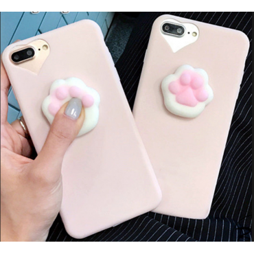 Apple Iphone 6 / 6S 3D Cat Sign silikoonkaitse