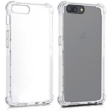 Samsung A7 (2018) / A750 silikoonkaitse põrutuskindel läbipaistev