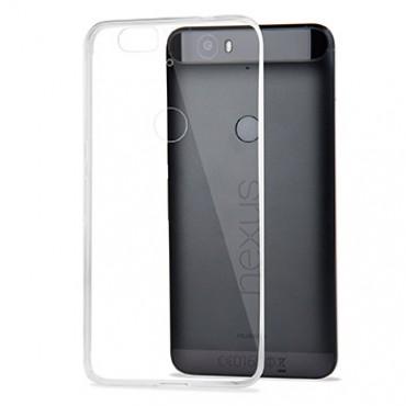 Huawei Nexus 6P silikoonkaitse õhuke läbipaistev