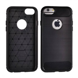 Apple Iphone 5 / 5s / SE silikoonkaitse Carbon must