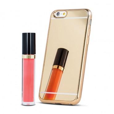 Huawei P9 Lite Beeyo Mirror silikoonkaitse kuldne
