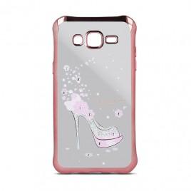 Samsung S6 / G920 Beeyo silikoonkaitse Girly roosa