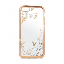 Apple Iphone 6 Plus / 6s Plus Beeyo silikoonkaitse Secret Garden gold