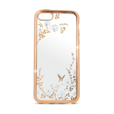 Apple Iphone 6 / 6s Beeyo silikoonkaitse Secret Garden gold