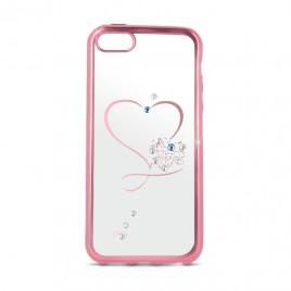 Samsung A3 (2017) / A320 Beeyo silikoonkaitse Heart roosa