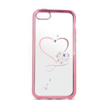 Samsung S8 / G950 Beeyo silikoonkaitse Heart roosa