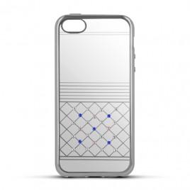 Sony Xperia E5 Beeyo silikoonkaitse Luxury hõbedane
