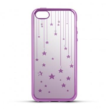 Samsung S7 / G930 Beeyo silikoonkaitse Stars roosa