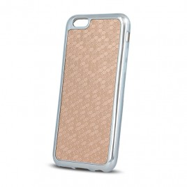 Apple Iphone 6 / 6s Beeyo silikoonkaitse Prestige hõbedane