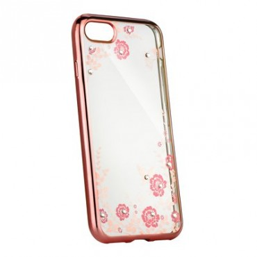 Apple Iphone 5 / 5s / SE Beeyo silikoonkaitse Secret Garden roosa