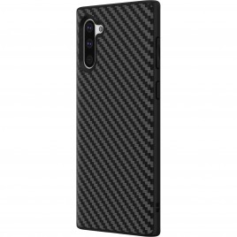 Samsung Note 10 / N970f silikoonkaitse Carbon must