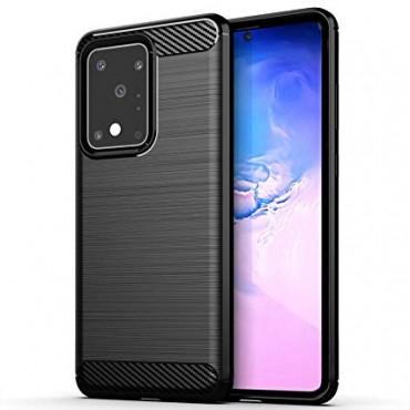 Samsung S20 Plus / g985f silikoonkaitse Carbon must