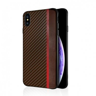 Apple Iphone Xs Max silikoonkaitse Mulsae Carbon pruun