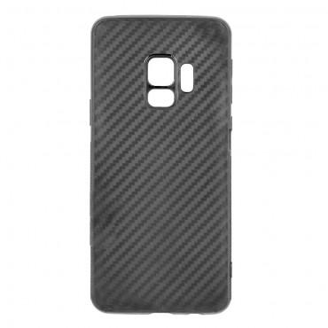 Samsung S9 / g960f silikoonkaitse Carbon Slim must
