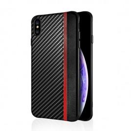 Samsung S10 Plus / G975 silikoonkaitse Mulsae Carbon must