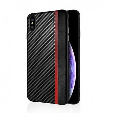 Samsung S10 / G973 silikoonkaitse Mulsae Carbon must