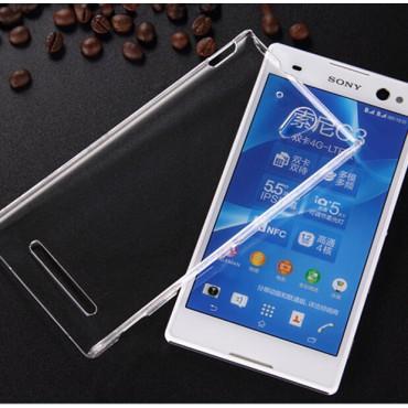 Sony Xperia C3 silikoonkaitse õhuke läbipaistev