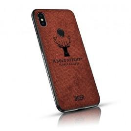 Samsung J4 Plus / J415 silikoonkaitse Deer pruun